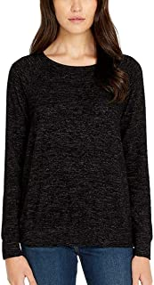 BUFFALO David Bitton Ladies' Long Sleeve Cozy Top (M, Black)