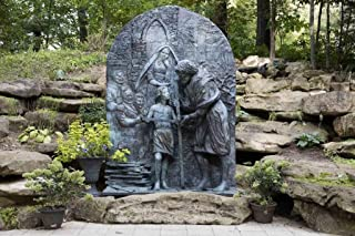 Photograph- Sculptor Anthony Brankin's statue to St. Joseph the Workman at the Shrine of Our Lady of Guadalupe in La Crosse, Wisconsin 2 Fine Art Photo Reproduction 36in x 24in