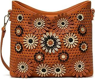 Desigual Bols_allegreto Galati Women's Handbag, Brown (Camel), 11 x 17.5 x 24 cm