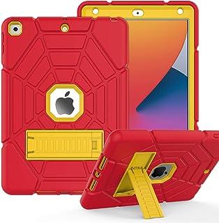 ZoneFoker iPad 8th/7th Generation Case, iPad 10.2 Case 2020/2019, Heavy Duty Shockproof Protective Tri-Layers Hybrid iPad ...