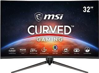 MSI Optix AG321CQR Curved Gaming Monitor - 31.5 Inch, 16:9 WQHD (2560 x 1440), 2K, VA, 165Hz, 1ms, 1500R, FreeSync Premiu...