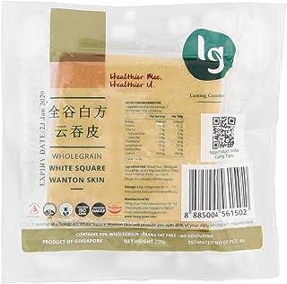 LG Foods Wholegrain White Square Wanton Skin - Chilled, 200 g
