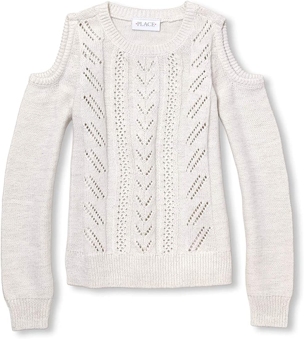 The Portland Mall Max 62% OFF Children's Place Big Shoulder Girls Sweaters Cold
