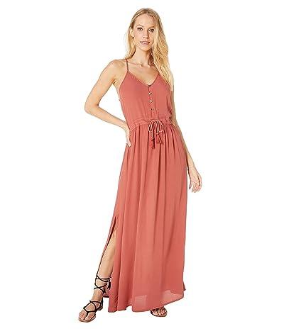 Rip Curl Nelly Maxi Dress (Rust) Women