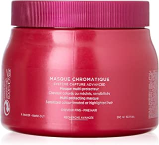 Kerastase Reflection Masque Chromatique - Fine Hair by Kerastase for Unisex - 16.9 oz Masque, 506.99999999999994 milliliters