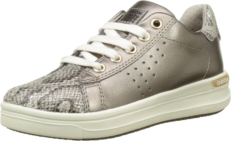 Geox Girl's AVEUP 4 Sneaker Gold 33 mart EU M Big US 2 Max 78% OFF Kid