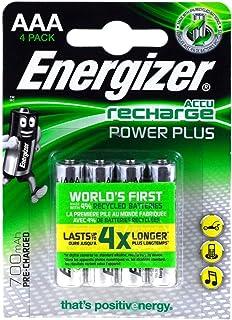Energizer PowerPlus Micro AAA Akku 700mAh 4er Blister, 1,2V, NiMH