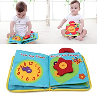 vegan My First Christmas Books, Nontoxic Fabric Baby Cloth Books Early Education Travel Toys
