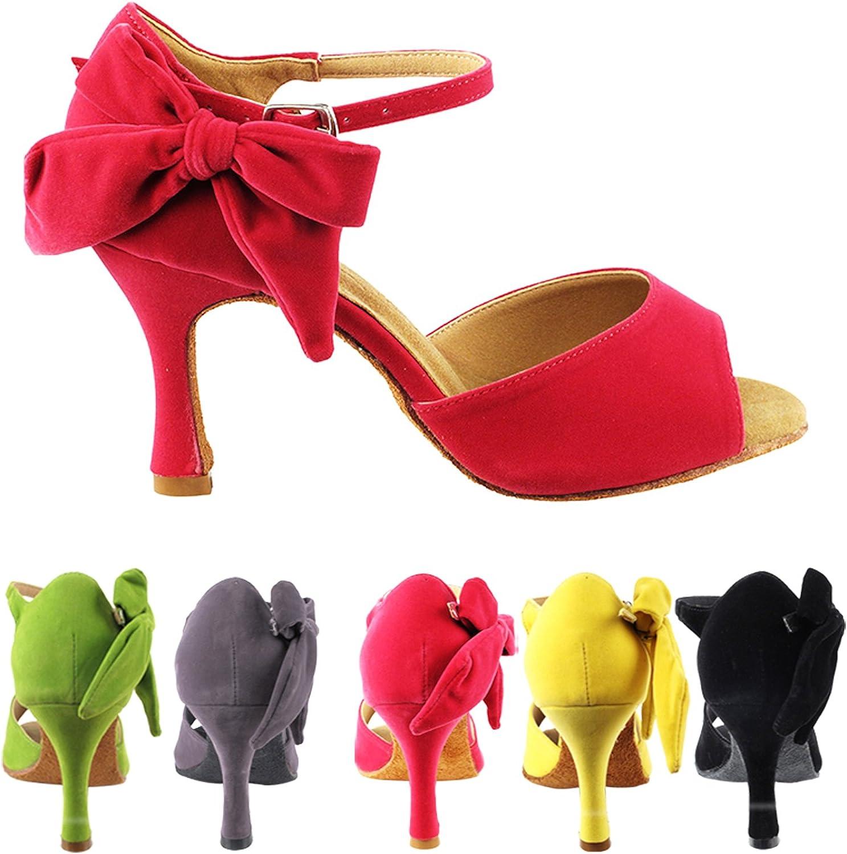 gold Pigeon shoes Party Party SERA3830 Comfort Evening Dress Pump, Wedding shoes  Women Ballroom Dance shoes High-Medium Heel, Salsa, Tango, Latin, Swing Salsa Tango Swing Latin