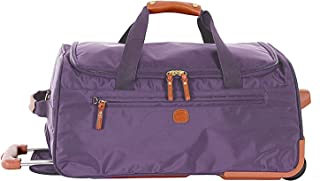 Bric's X-Travel 21 Inch Carry-on Rolling Duffel, Lavender (Purple) - BXL32510.312