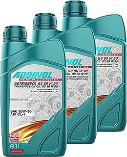 Addinol 3X Getriebeöl Gear Transmission Oil Fluid Lubricant 80W 90 Gs 80 W 90 1L 74200907