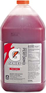 Gatorade Liquid Concentrate, Fruit Punch, 1 Gallon Jug - four bottles.
