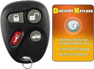 For 00-07 Cadillac Chevy Oldsmobile Pontiac Saturn keyless Entry Remote Key Fob 4btn 12223130-50, 16263074-99 L2C0005T