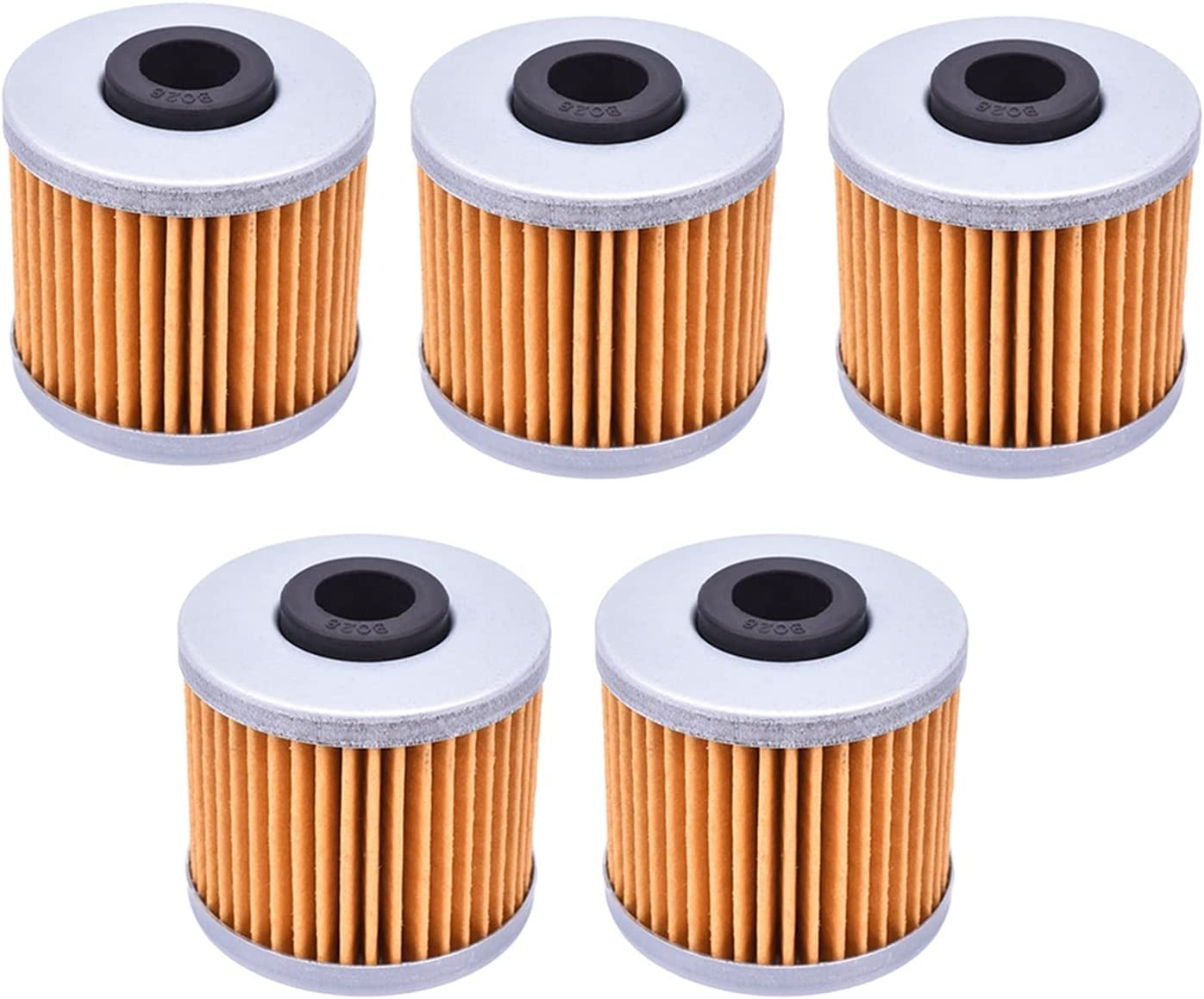 Motorcycle Engine Oil Complete Free Shipping Filter 5Pcs for Import Scoo