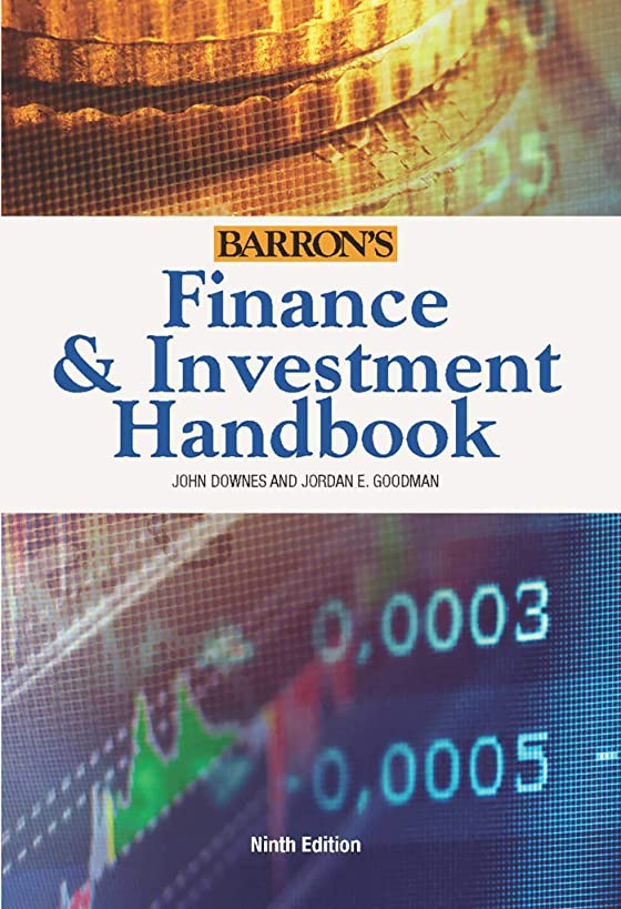 Finance & Investment Handbook (Barron's Finance and Investment Handbook)