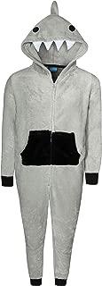Only Boys' Footless Micro Fleece Onesie Pajamas with Character Hood (Toddler/Little Boy/Big Boy)