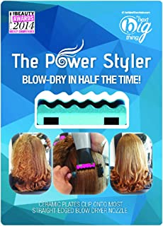 The Power Styler - Blow Hair Dryer Attachment (Turquoise)