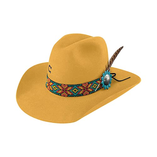 65f1d40977484 Charlie 1 Horse Women s Yellow Gold Digger Hat - Cwgdgr-2134Yl