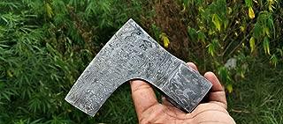 CuttingEUSA Handmade Tomahawk Damascus Steel Blank, Hatchet Axe Head # 002