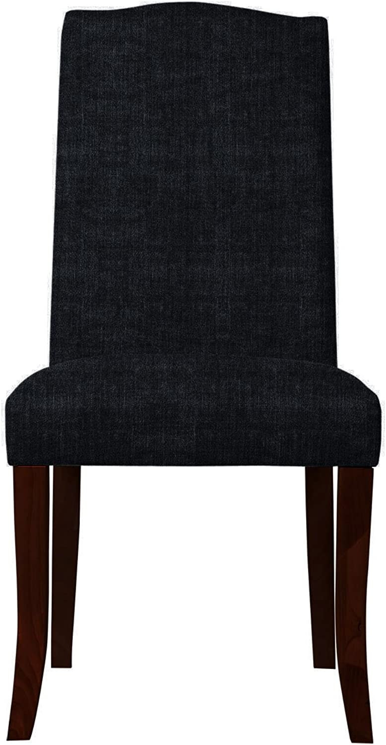 Claudie Side Chair with Sager Fabric   468, Set of 2