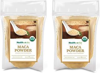 Healthworks Maca Powder Raw (32 Ounces / 2 Pound) (2 x 1 Pound Bags) | Certified Organic | Flour Use | Keto, Vegan & Non-G...