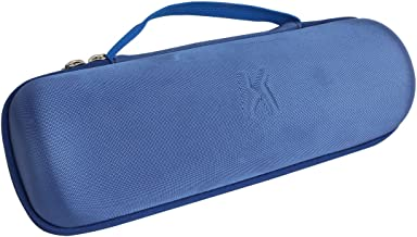 Khanka Hard Travel Case Replacement for JBL Charge 3 Waterproof Portable Wireless Bluetooth Speaker. Extra Room for Charger and USB Cable (Blue)