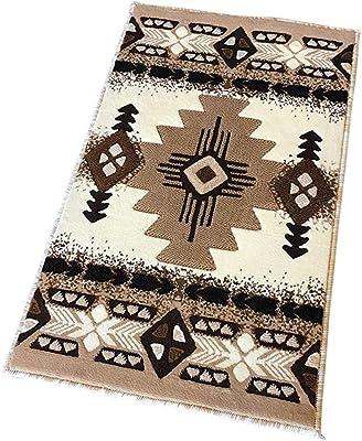 Southwest nativo americano Felpudo Área Alfombra marfil diseño # C318(2Ft. x3ft. (.)