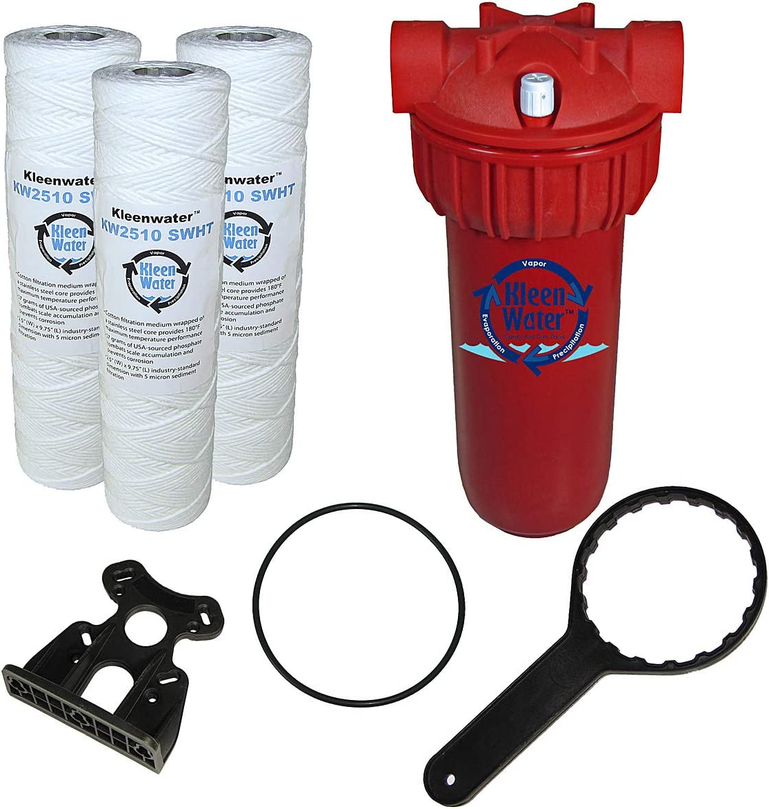Very popular Hot Water Filter System KleenWater Premier Temper High Surprise price KWHW2510