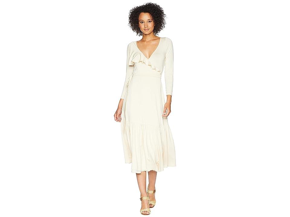 Rachel Pally Nadine Wrap Dress (Cream) Women