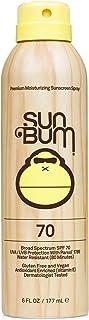 Sun Bum Original Sunscreen Spray | Vegan and Reef Friendly (Octinoxate & Oxybenzone Free) Broad Spectrum Moisturizing UVA/UVB Sunscreen with Vitamin E | 6 oz