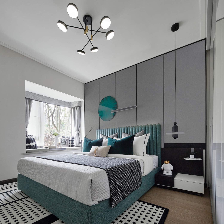 carta autoadesiva per pareti mobili antivegetativa e resistente allumidit/à e alle macchie di grasso 61 x 500 cm Carta da parati adesiva grigia scura