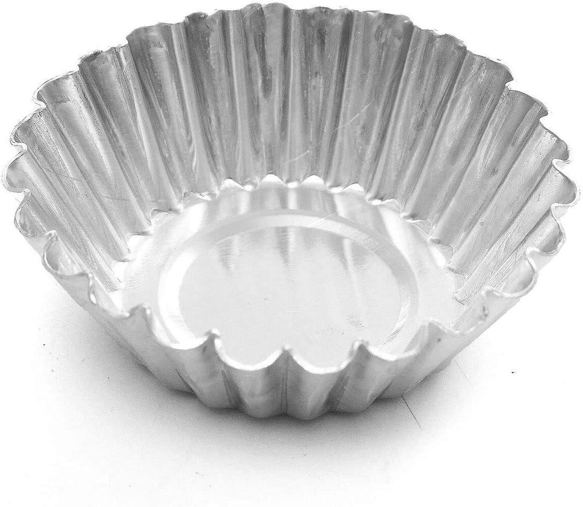 Finaldeals 4 Piece Branded goods Muffin Rapid rise Cups Cak Aluminium Pan Cake Cup