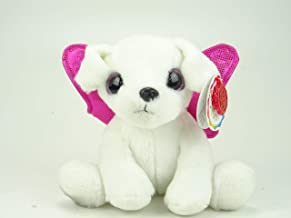 Sparkle Eyes Puppy Plush with Glitter Wings – 7 Designs to Collect! (Pink Poodle)