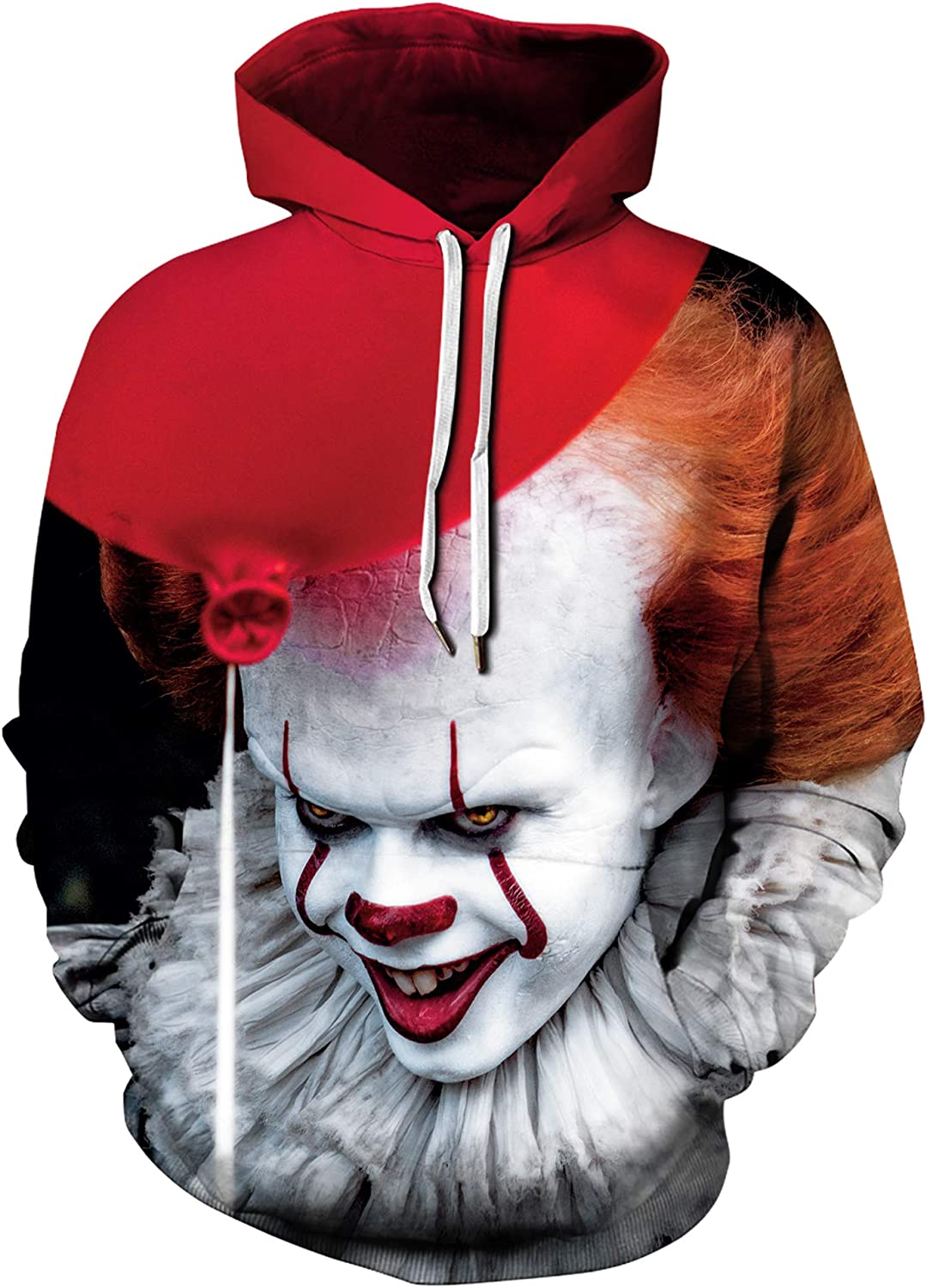Plustrong Unisex Novelty Funny 3D Pullover Cheap bargain Excellence Sweatshirts Hoodies H