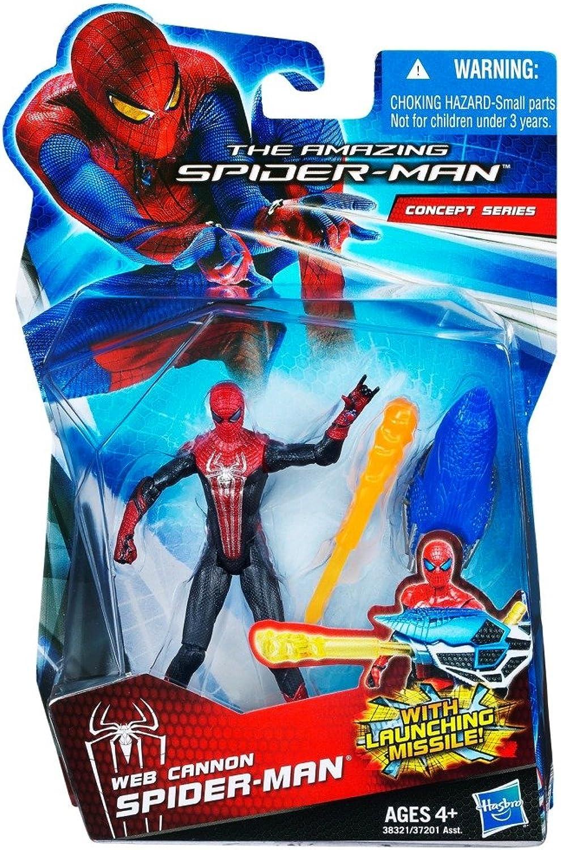 Web Cannon SpiderMan The Amazing SpiderMan Concept Series Figure