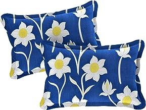 Amrange Cotton 120TC Pillow Cover (17''X27''_Multicolour)