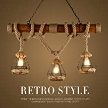 Amazon.es: lámparas rusticas de techo: Iluminación