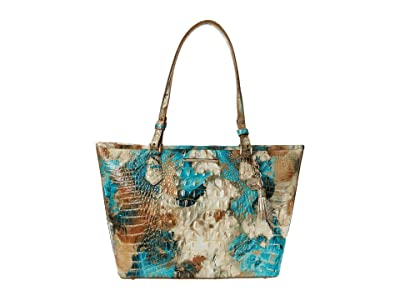 Brahmin Melbourne Medium Asher Bag (Bird of Paradise) Tote Handbags