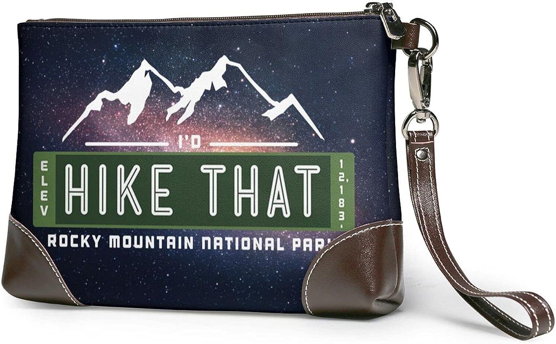 I'D Hike Baltimore Mall That Women'S With Handbag Strap Genuine Wristlet 35% OFF Leathe