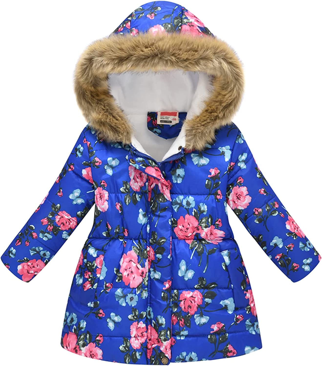 2-11Y Max 55% OFF Toddler Baby Kids Indefinitely Girls Winter Thick Warm Hooded Wi Parkas