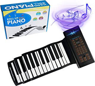 88 Keys Portable Piano With Carrying Bag Keyboard Hand Roll