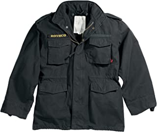 vintage m65 field jacket black