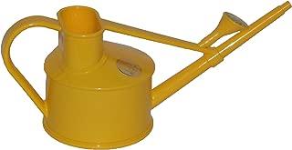 Haws Handy Indoor Plastic Watering Can, Yellow, 1 US Pint