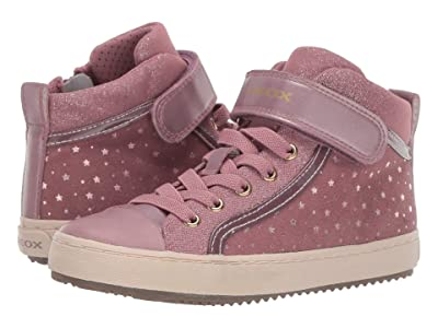 Geox Kids Jr Kalispera 18 (Little Kid/Big Kid) (Dark Pink) Girls Shoes
