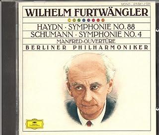 Haydn: Symphonie No. 88 / Schumann: Symphonie No. 4