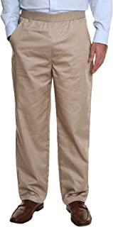 Pembrook Men's Full Elastic Waist Twill Casual Pant