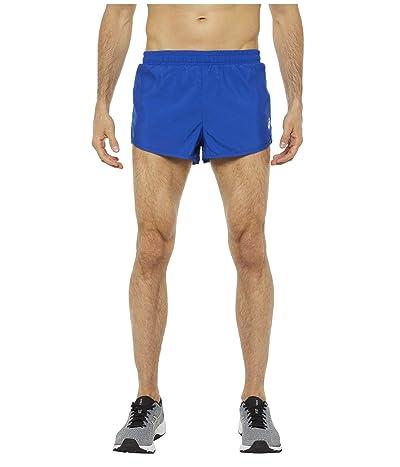 ASICS Run Split Shorts (ASICS Blue) Men