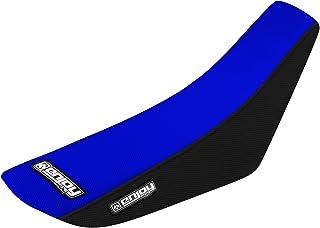 Enjoy Mfg 2006–2014Yamaha TTR 50negro lados/parte superior azul Funda para asiento de agarre de Full