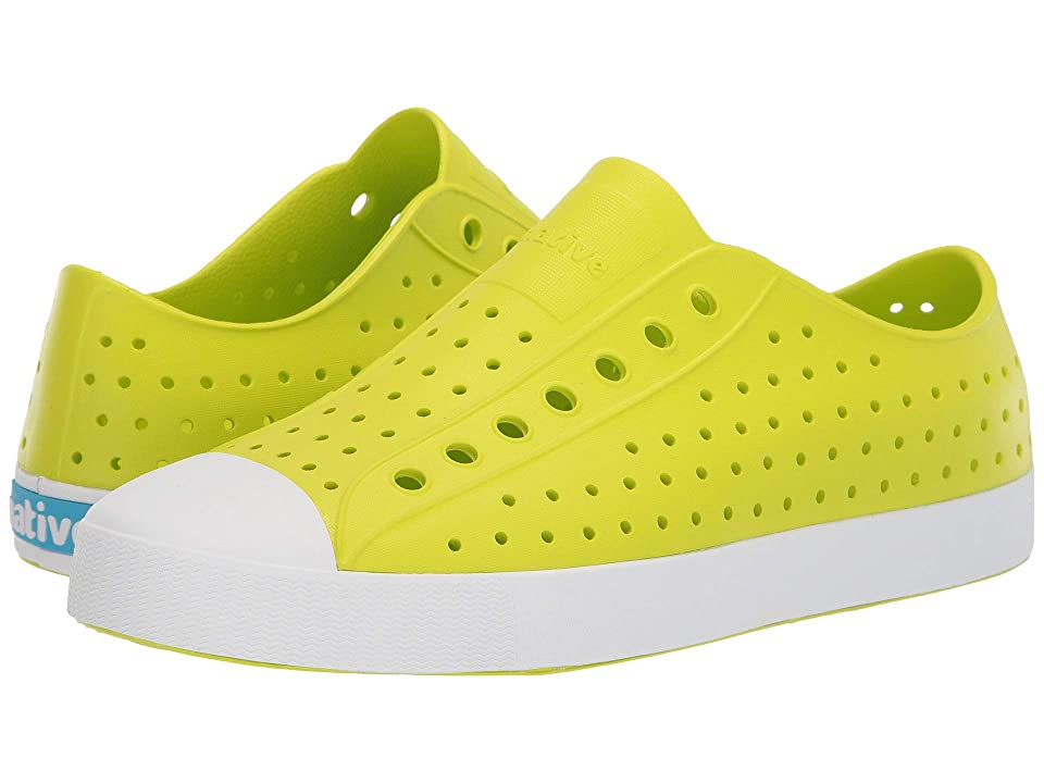 Native Shoes Jefferson (Glo Green/Shell White) Shoes