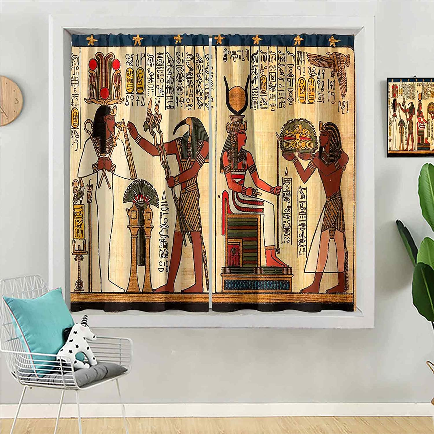 Save money Blackout Curtain 84 inches Long Be Beach Mall Kids Window for Panel